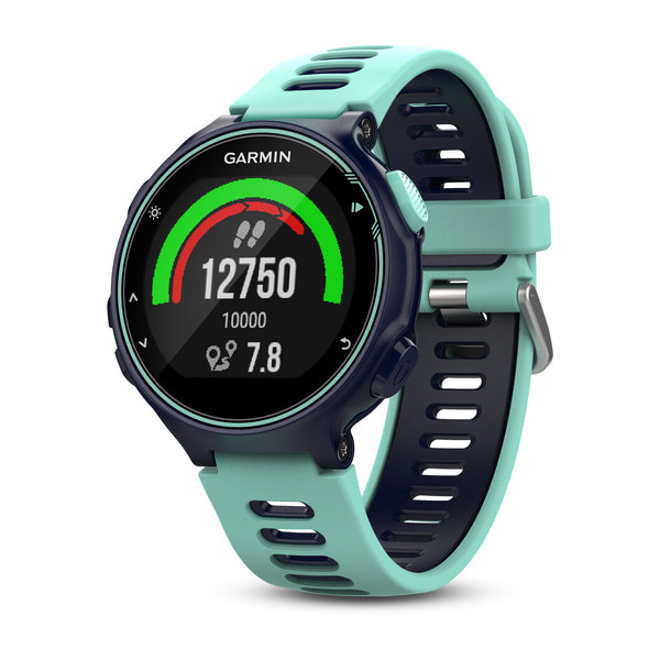 Forerunner 735XT Midnight Blue and Frost Blue  Tri Bundle